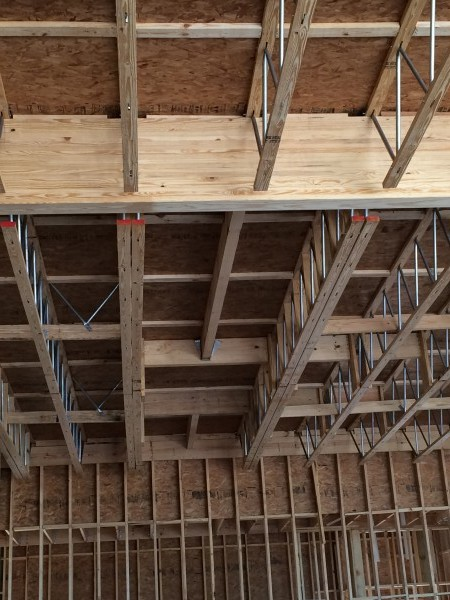 Does A Diaphragm Or Shear Wall Constructed With Tongue And
