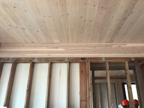What are the options for detailing non-bearing wood