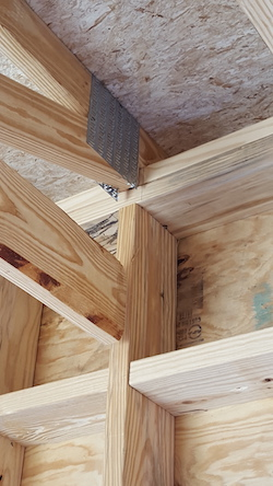 For a Type III or Type IV building, can non-treated studs and ...